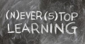 N'arrête jamais d'apprendre