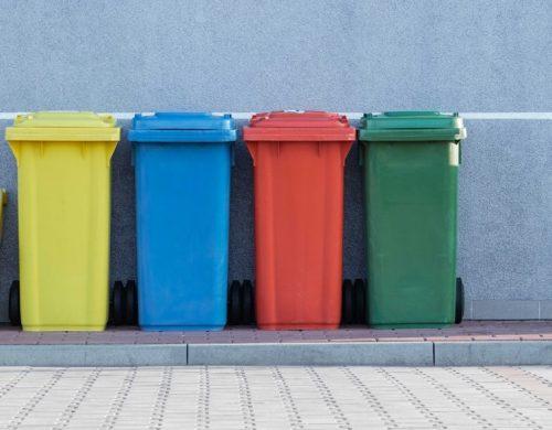 poubelles de tri sélectif