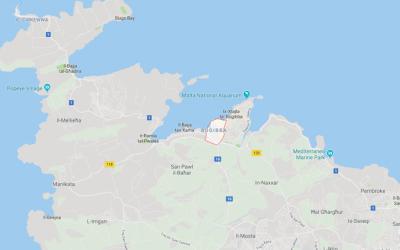 Bugibba Google Maps