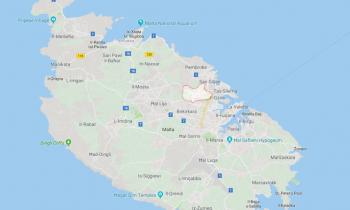 San Gwann Google Maps