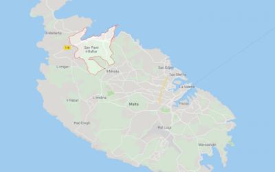 San Pawl Google Maps