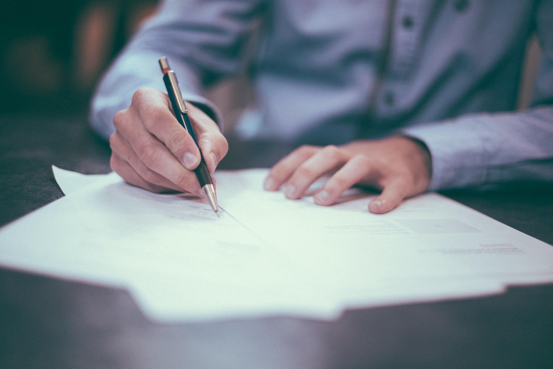 La convention de stage à Malte, le contrat du stagiaire.