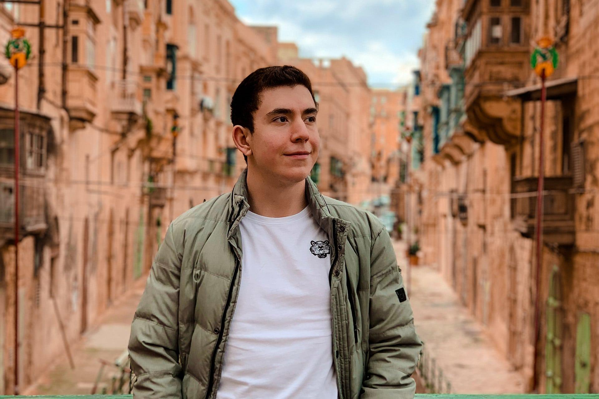 """Témoignage Téo Correas: """"Comment j'ai trouvé mon stage à Malte"""""""