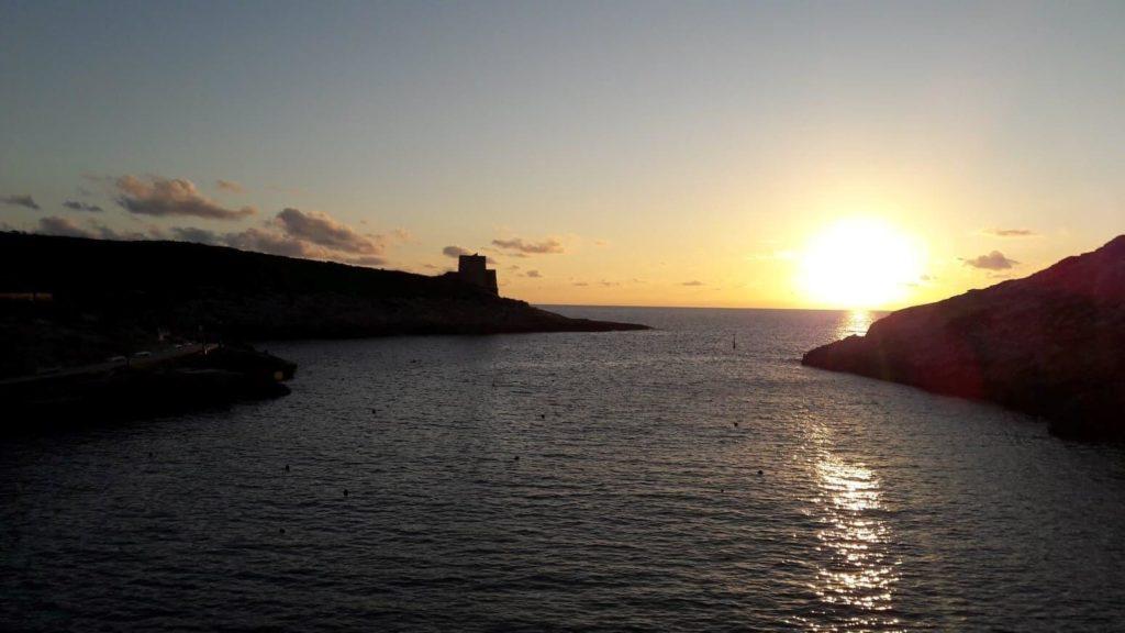 couché de soleil Gozo