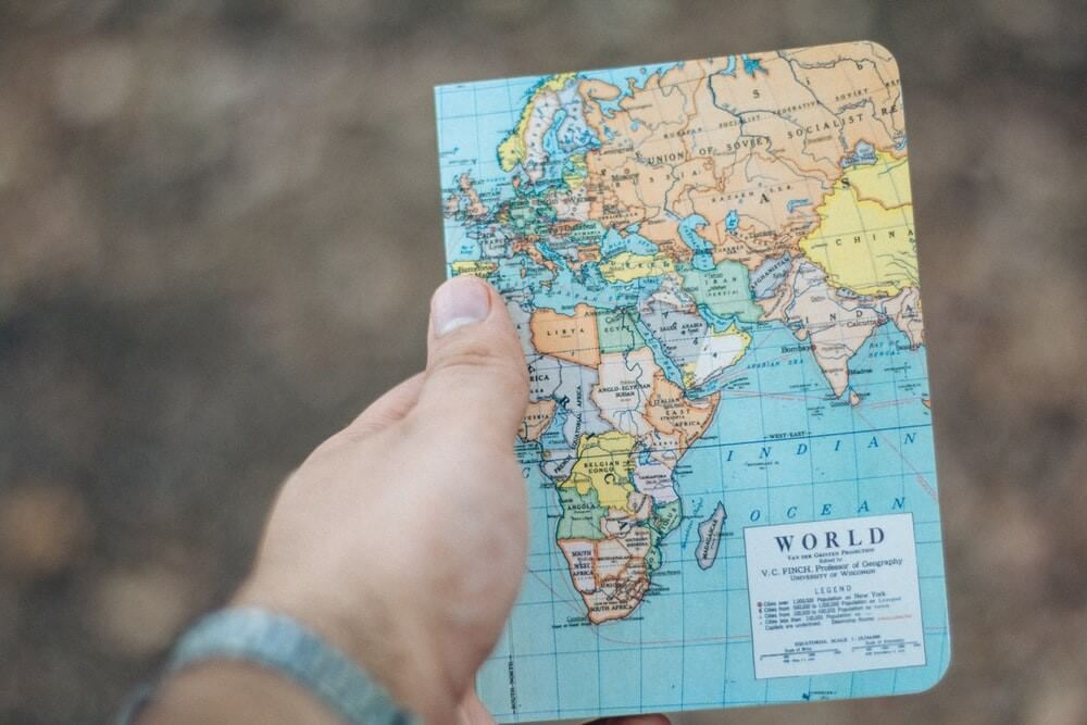 Carte du monde²