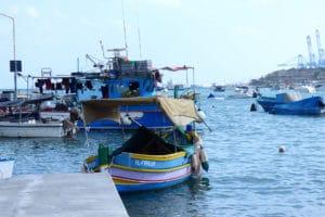Port de pèche Malte