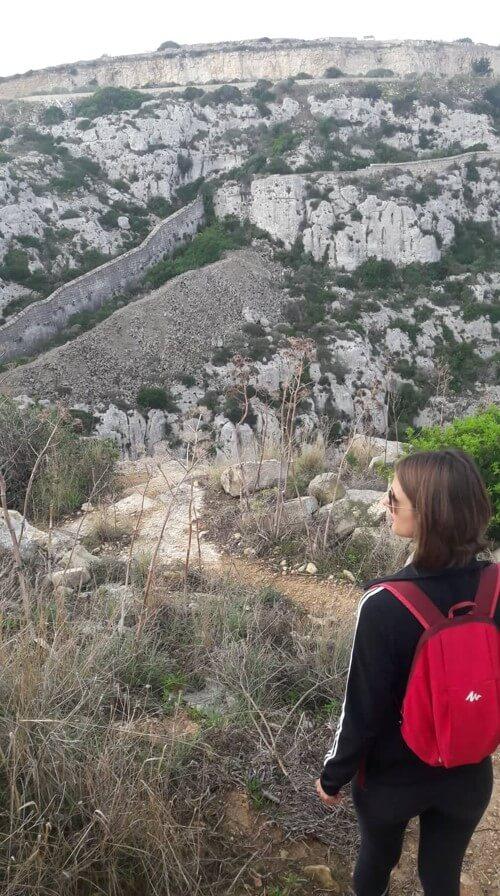 randonnée à Malte