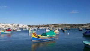 Bateau au port de Marsaxlokk