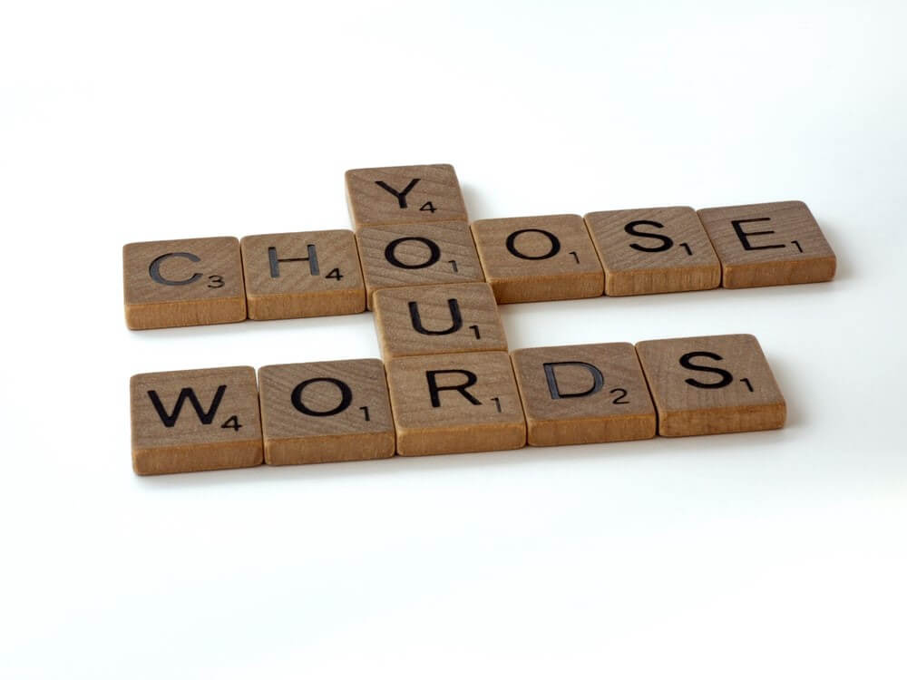 Lettres choose your words