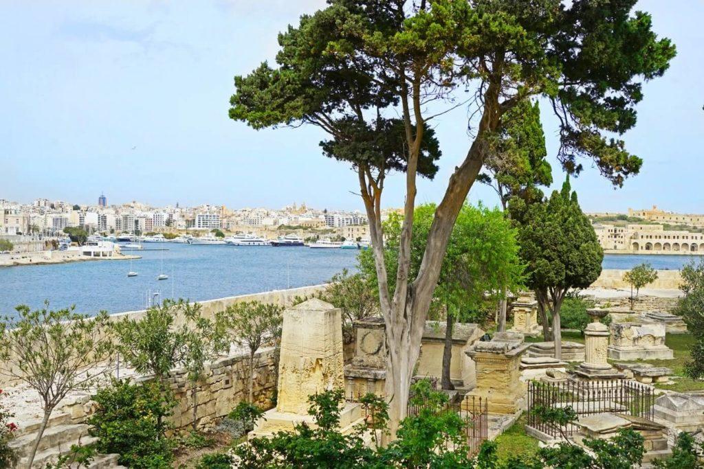 msida bastion historic garden malte