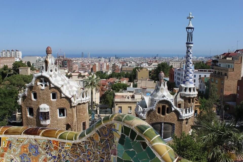 vue depuis les hauteurs barcelone