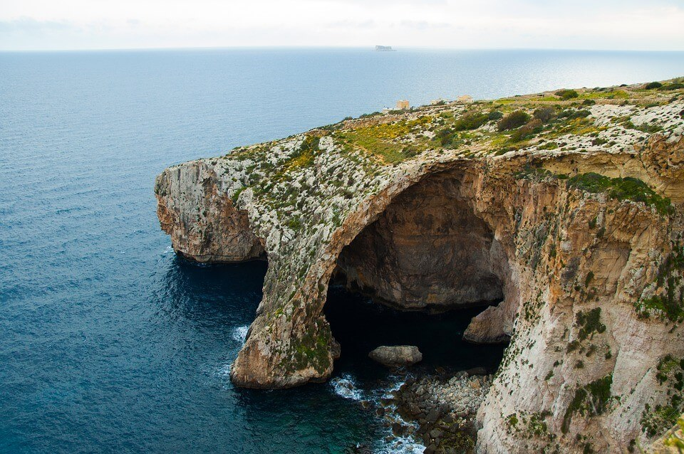 blue grotto malte