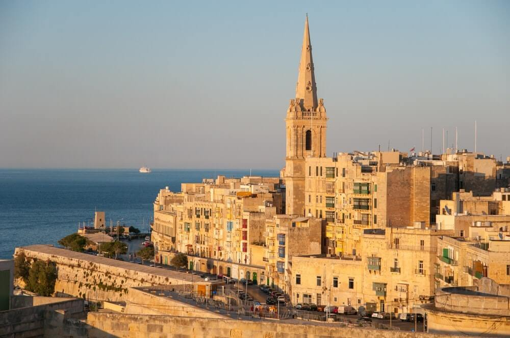 balluta bay à Malte