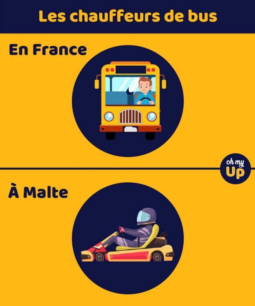 bus à Malte