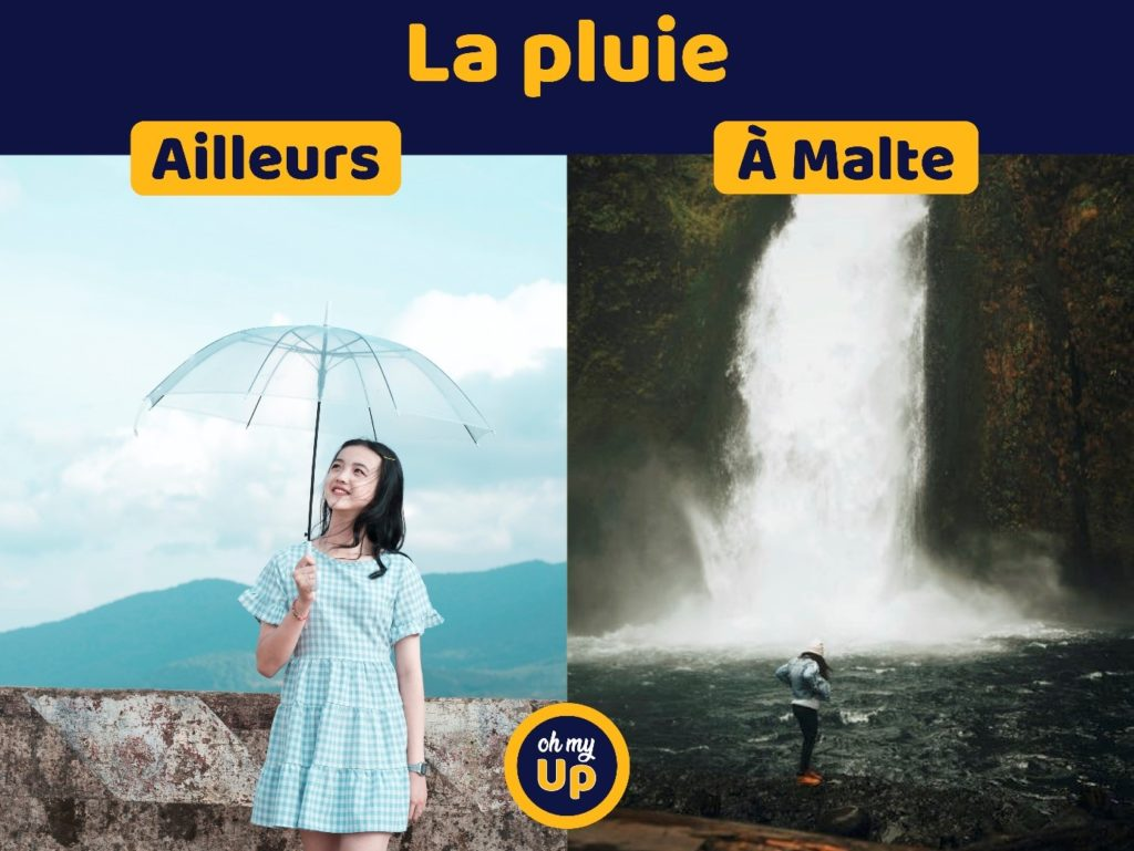 Quand il pleut à Malte