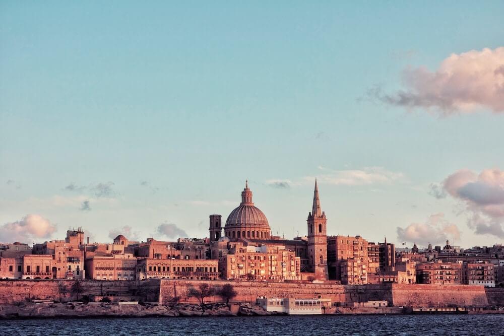 valletta capitale de Malte