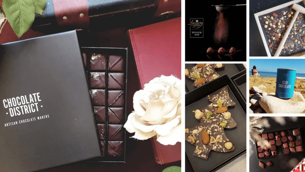 produits de la boutique chocolate district