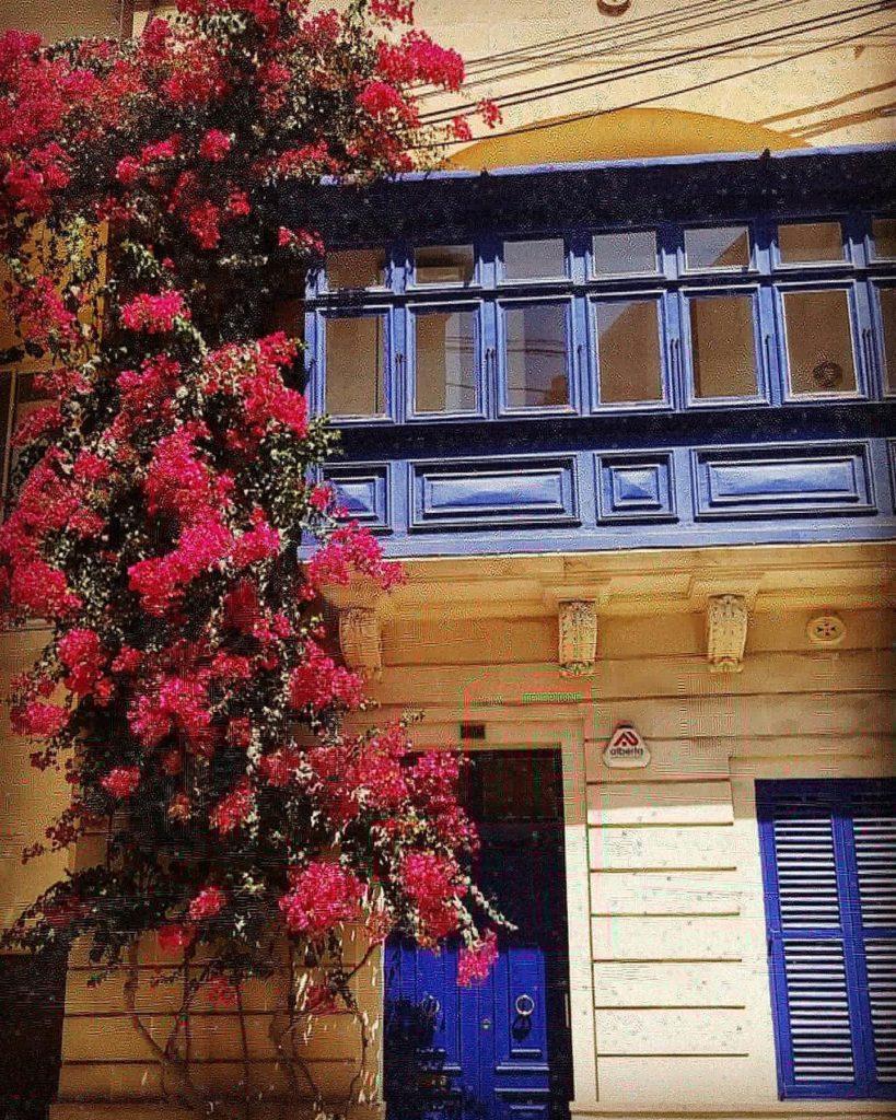 immeuble fleuri à sliema