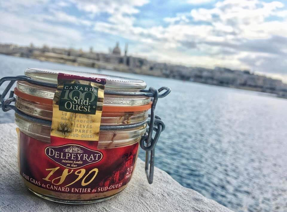 foie gras delpeyrat à Malte
