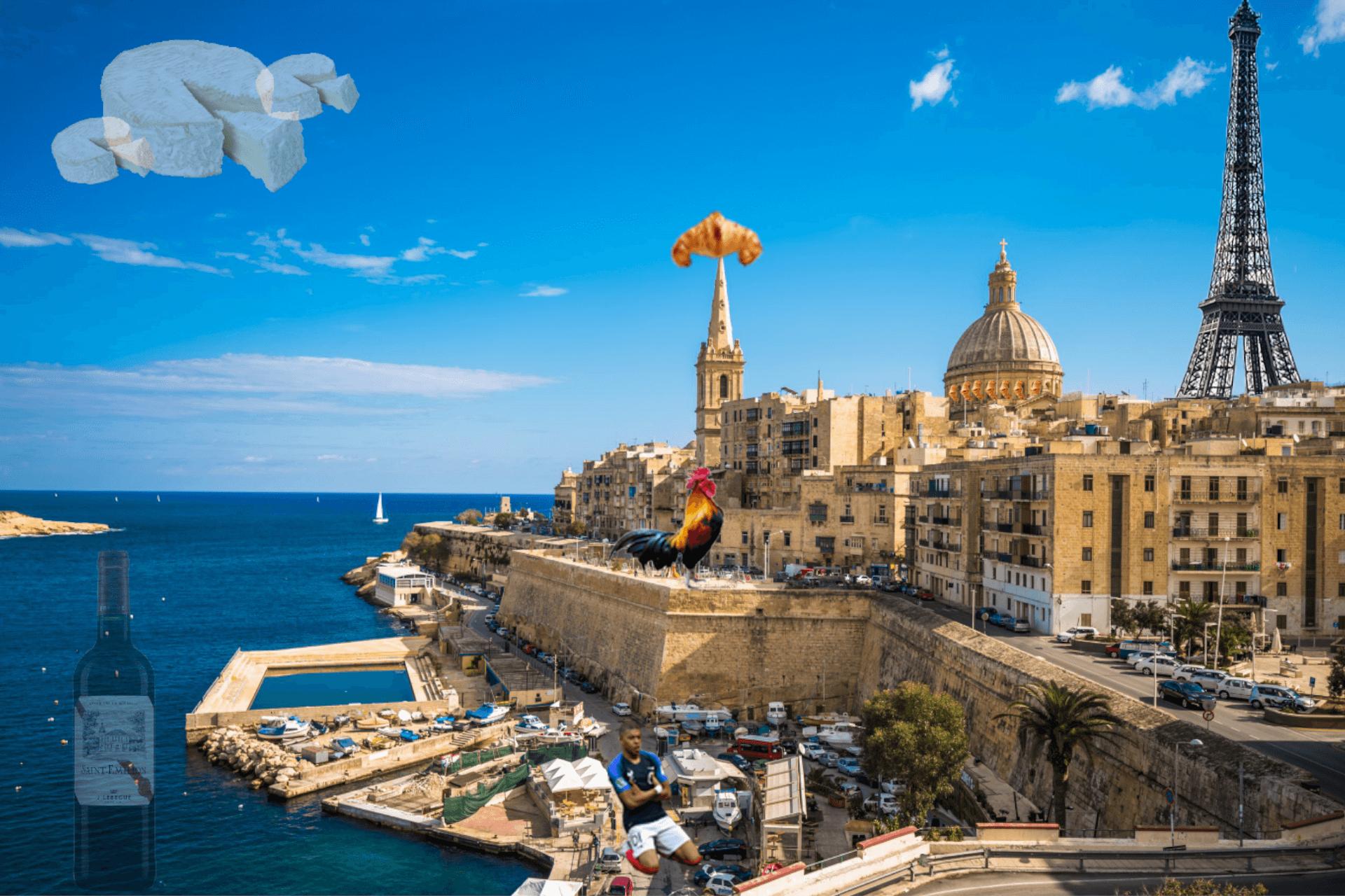 Top 25 des trucs qui nous manquent de la France quand on vit à Malte