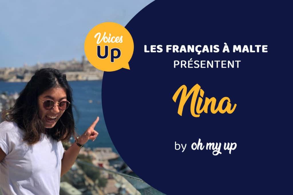 Témoignage de Nina : Je fais mes études supérieures à Malte – Voices UP